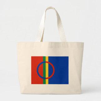 Sami Flag Jumbo Tote Bag