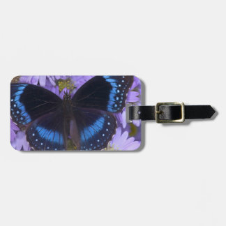 Sammamish Washington Photograph of Butterfly 20 Tag For Luggage