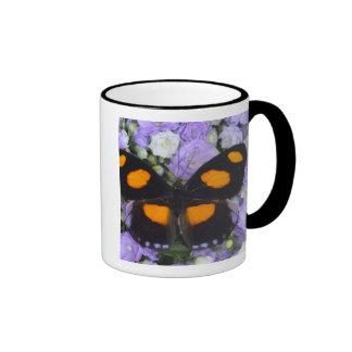 Sammamish Washington Photograph of Butterfly 4 Ringer Mug