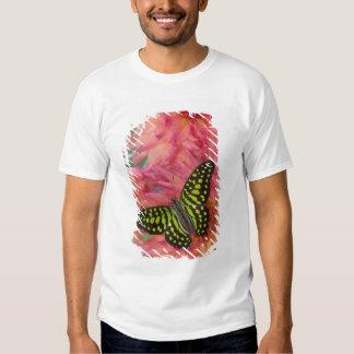 Sammamish Washington Photograph of Butterfly on 3 Tee Shirt