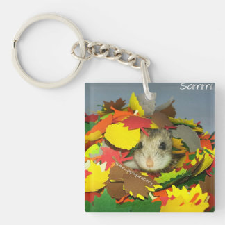 Sammi is Hiding From You! Key Ring