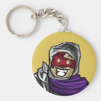Sammy Basic Round Button Key Ring