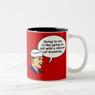 Sammy Sailor Two-Tone Mug