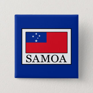Samoa 15 Cm Square Badge