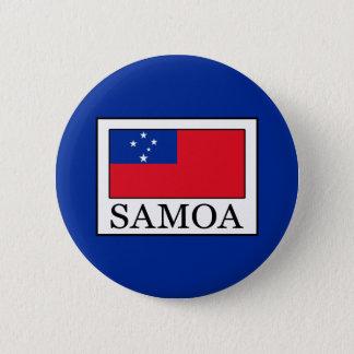Samoa 6 Cm Round Badge