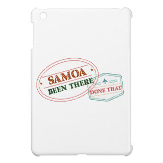 Samoa Been There Done That iPad Mini Cover