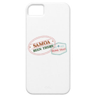 Samoa Been There Done That iPhone 5 Case