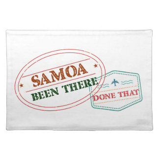 Samoa Been There Done That Placemat