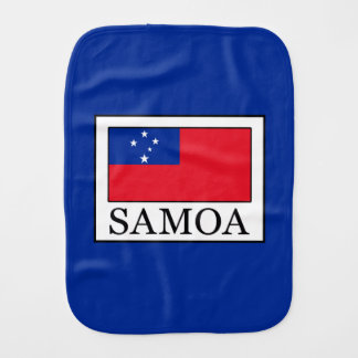Samoa Burp Cloth