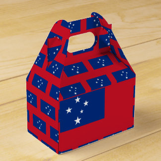 Samoa Flag Favour Box