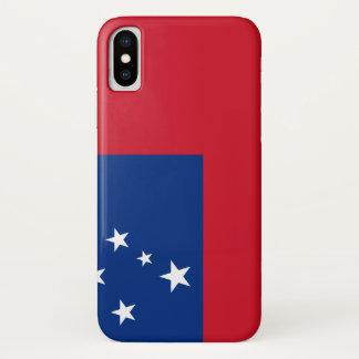 Samoa Flag iPhone X Case
