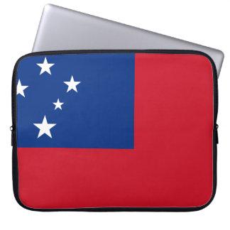 Samoa Flag Laptop Sleeve