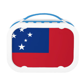 Samoa Flag Lunch Box