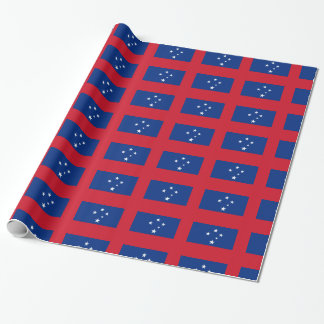 Samoa Flag Wrapping Paper