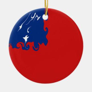 Samoa Gnarly Flag Ornaments