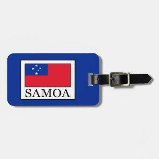 Samoa Luggage Tag