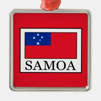 Samoa Metal Ornament