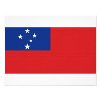 Samoa National Flag Invites