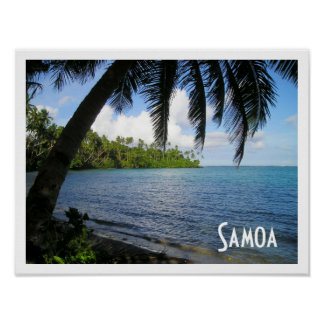 Samoa, Southern Pacific Ocean Poster