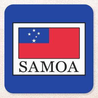 Samoa Square Paper Coaster