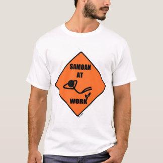 Samoan At Work T-Shirt