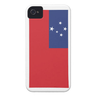 Samoan Flag Case-Mate iPhone 4 Cases
