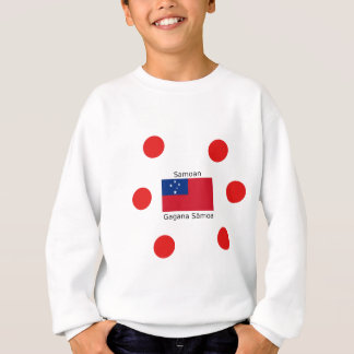 Samoan Language And Samoa Flag Design Sweatshirt