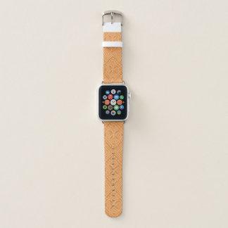 Samoan Tapa Hawaiian Papaya Apple Watch Band