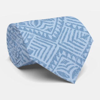 Samoan Tapa Tropical Two-sided Printed Tie