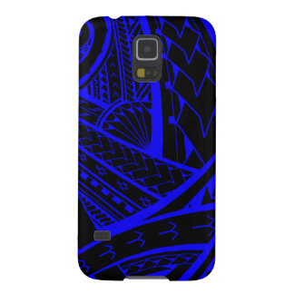 Samoan tribal tattoo design with spearheads case for galaxy s5