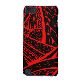 Samoan tribal tattoo design with spearheads iPod touch 5G case