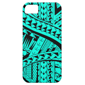 Samoan tribal tattoo pattern with spearheads art barely there iPhone 5 case