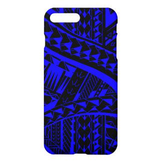 Samoan tribal tattoo pattern with spearheads art iPhone 7 plus case