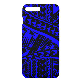 Samoan tribal tattoo pattern with spearheads art iPhone 8 plus/7 plus case