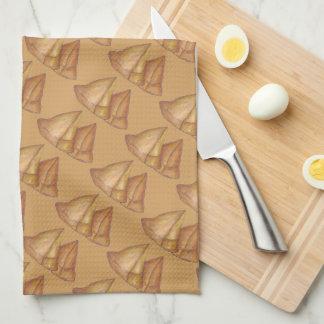 Samosas Indian Food Samosa Cooking Foodie Print Tea Towel