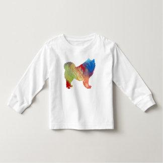Samoyed art toddler T-Shirt