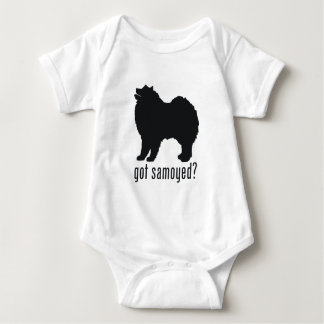Samoyed Baby Bodysuit
