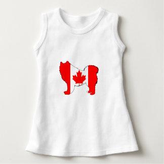 Samoyed Canada Dress