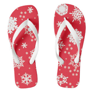 "Samoyed ""Cool"" Flip-Flops -  Adult or Kid sized Thongs"