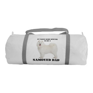Samoyed Dad Duffle Bag