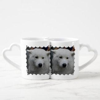 Samoyed Dog Couples Mug