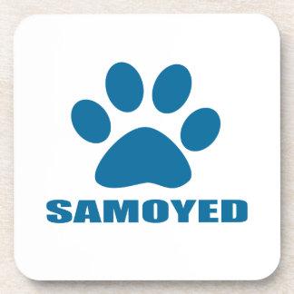 SAMOYED DOG DESIGNS COASTER