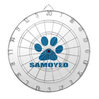 SAMOYED DOG DESIGNS DARTBOARD