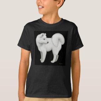 Samoyed Dog Kids Dark Sweatshirt