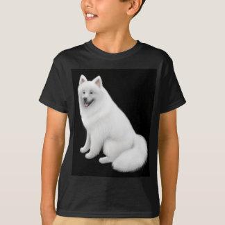 Samoyed Dog Kids Dark T-Shirt