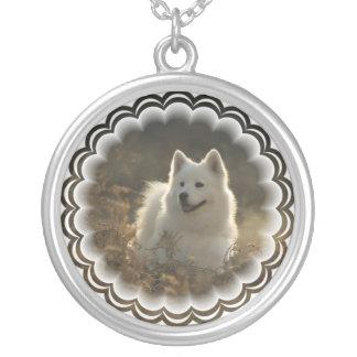 Samoyed Dog Necklace