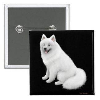 Samoyed Dog Pin