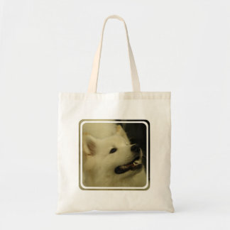 Samoyed Dog Small Canvas Bag