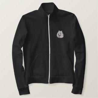 Samoyed Embroidered Jacket