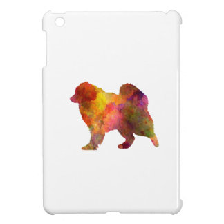 Samoyed in watercolor iPad mini cases